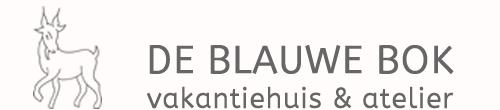 De Blauwe Bok logo